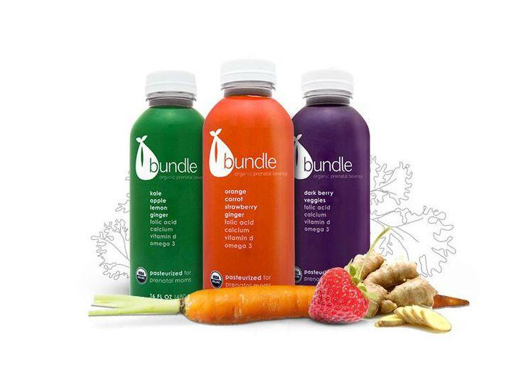Bundle Organics prenatal juices | DailyCandy