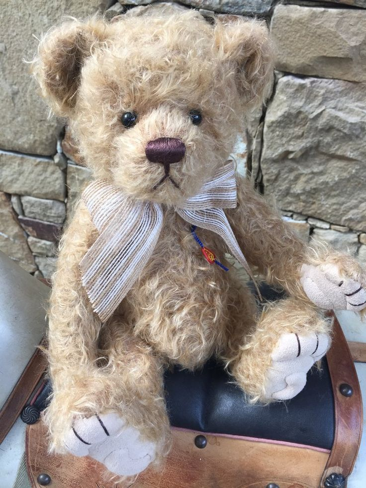 Aberle Clemens Limited Edition Collectable German Mohair Teddy Bear