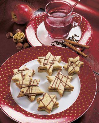 Sterntaler Backrezept für die Weihnachtszeit. Ideal auch zum Advent!