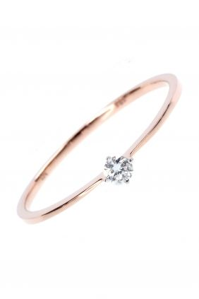 zarter rosegold diamant ring