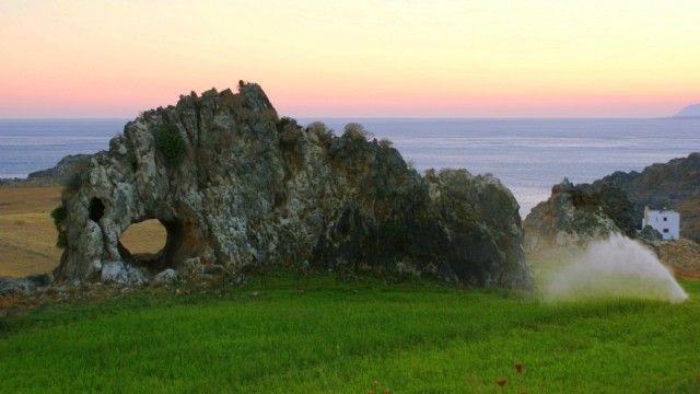 Landscape in southern Rethimno, Schinaria Beach #Crete