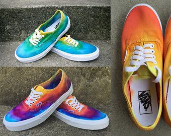 SALE The Original Custom Tie dye Vans shoes by DoYouDreamOutLoud