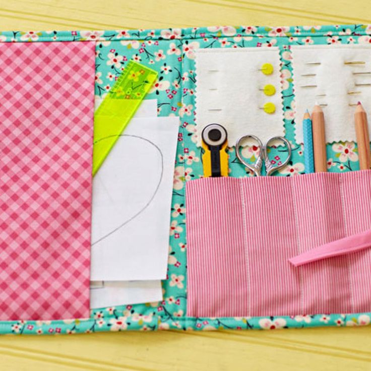 Sew Perfect organizer for keeping basic sewing/quilting supplies organized for classes. Another awesome free project from Allpeoplequilt.com
