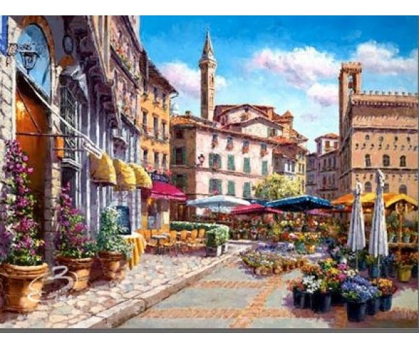 Florence Flower Market 1-888-264-4887 Sam Park  http://art-leaders-gallery.com