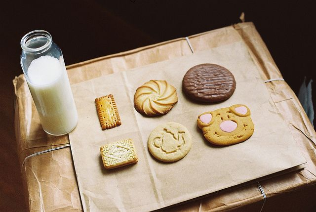 a lovely assortment of cookies