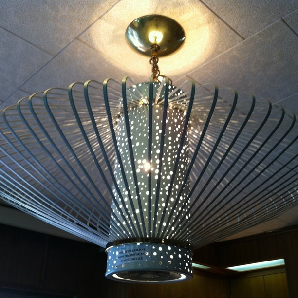 An original light fixture (since removed) in the 1955 Denver time capsule that @ & 266 best Retro Lighting images on Pinterest | Retro lighting ... azcodes.com
