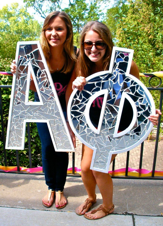 sorority sugar mirrored letters @Erin Stefany Becerril ! woah  but DELTAS... i love this #tridelta