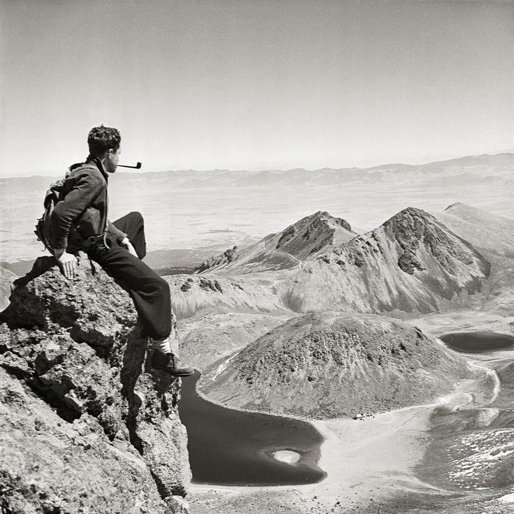 Juan Rulfo, Autorretrato en el Nevado de Toluca década de 1940
