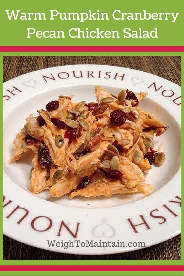 pumpkin cranberry pecan chicken salad pinterest (1)