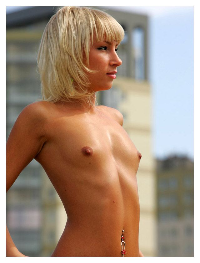 Horny little angel nude