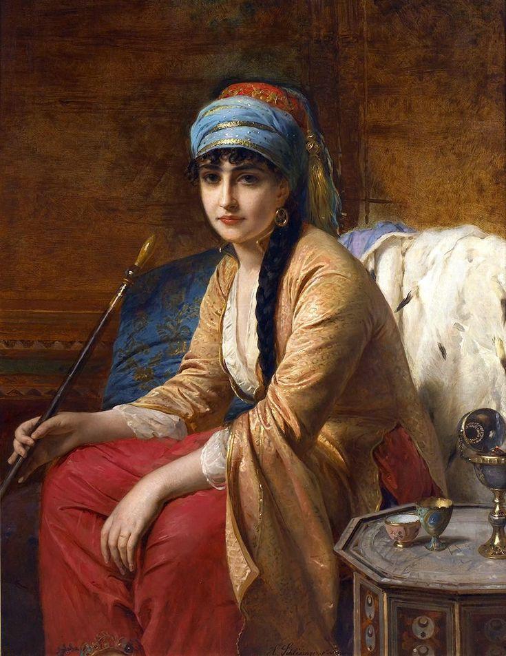 Pintura: Uma beleza oriental (3)