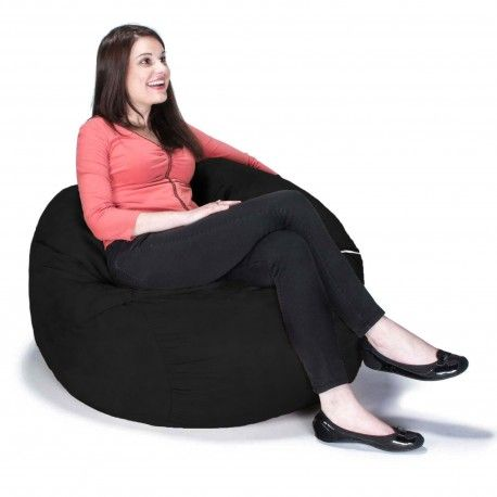 round bean bag chair saxx is a bean bag built for one that does not sacrifice any of the inherent qualities of its huge bean bag brothers - Large Bean Bags