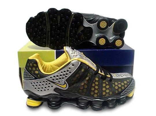 Cheap-Men-Nike-Shox-TL3-Shoes-yellow. Nike ShoxBasketball Shoes