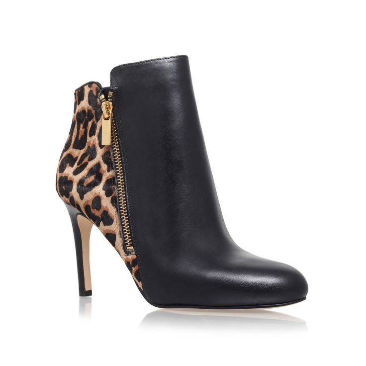 clara ankle bootie black high heel ankle boots from Michael Michael Kors