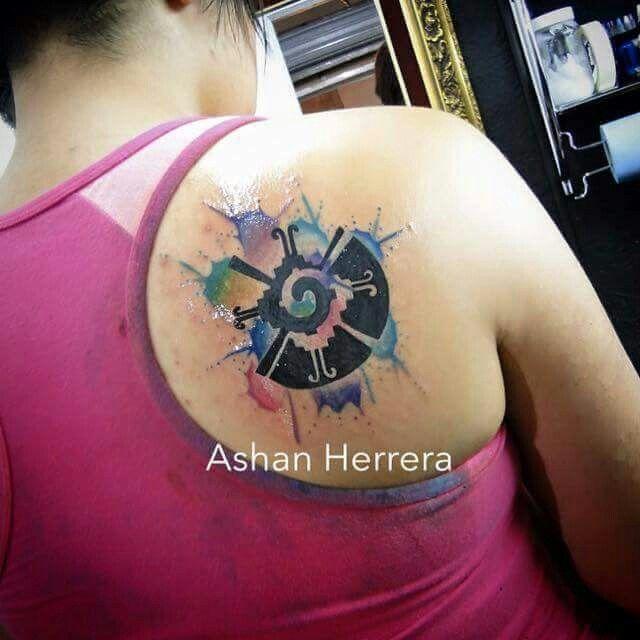 Acuarela Tatuador Ashan Sucursal Zapata Whatsapp 5536602957