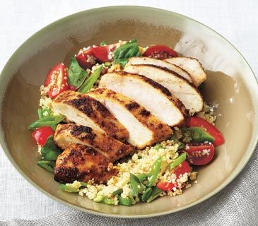 30 Healthy Recipes- A month of easy, good-for-you meals.