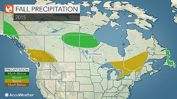 The 2015 Fall Outlook for Canada - Brett Anderson Weather Blog