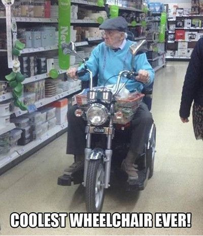 Funniest Memes - [Coolest Wheelchair Ever...]