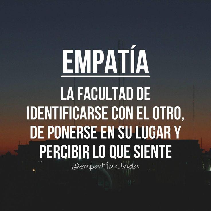 """La empatía es una habilidad que nos permite apreciar el punto de vista de la otra persona; """"ver la situación como el otro la ve"""". La aplicación de la empatía puede guiarnos a saber cómo…"""