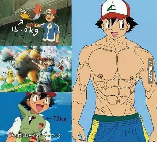 Pokemon female muscle growth fanfiction
