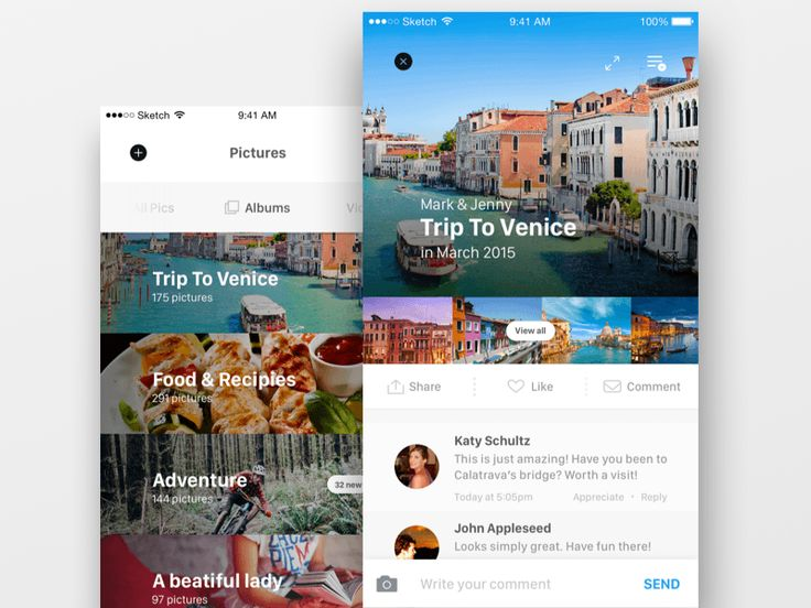 Mobile iOS Media UI Kit