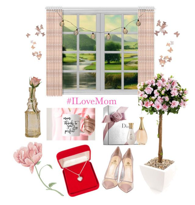 """""""#IdealGiftsForMom! ♡"""" by kareenleon on Polyvore featuring moda, Cultural Intrigue, Christian Dior, Alexa Starr, Semilla y mothersdaygiftguide"""