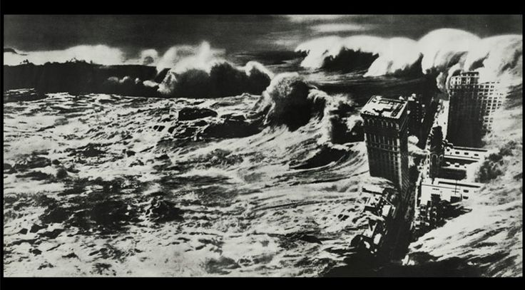 John Heartfield's cover image for Upton Sinclair's After the Flood, 1925
