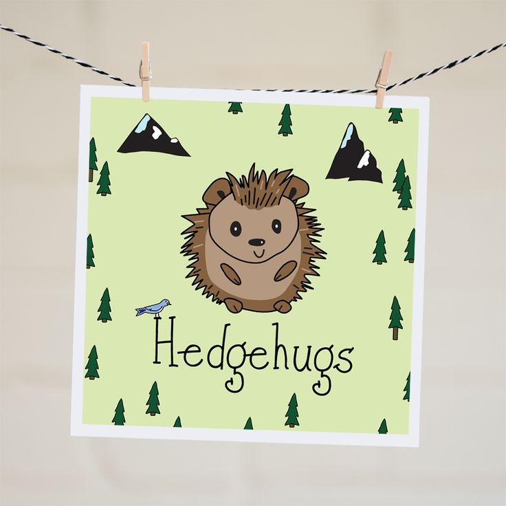 Hedgehugs Card | Relove SA
