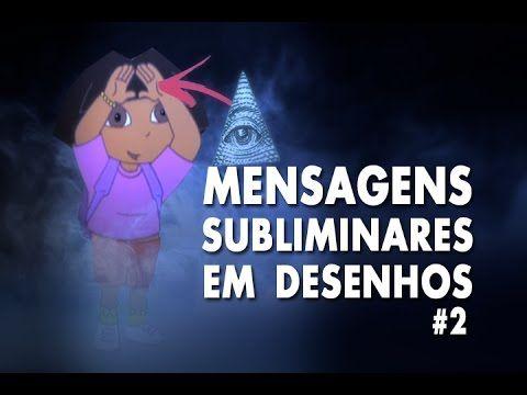 DESENHOS - MENSAGENS SUBLIMINARES #2 - Dora - Tartarugas Ninja - Samurai...
