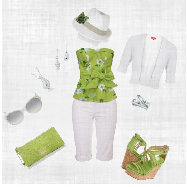 Iced Green Tea, created by hmpele on Polyvore