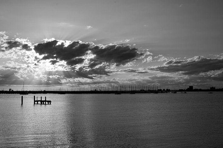 Sunrise in St. Kilda, Melbourne, Australia