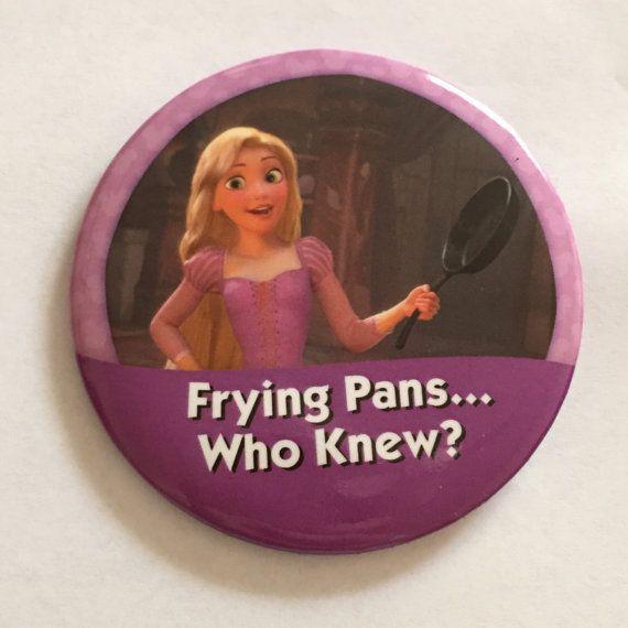 Frying Pans Who Knew Rapunzel I'm Celebrating by disneybounding