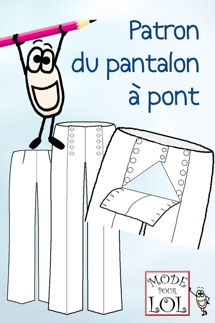 Le patron du pantalon à pont !