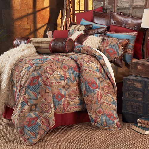 Delectably Yours Ruidoso Southwestern Bedding Comforter Set by HiEnd Accents