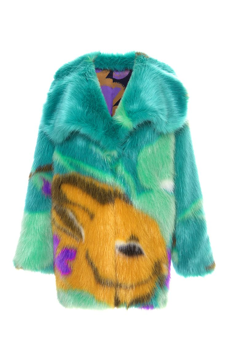 Bunny Faux Fur Coat  by MARCO DE VINCENZO for Preorder on Moda Operandi
