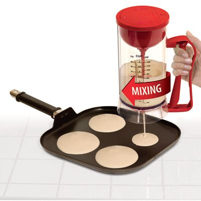 All-in-One Pancake Machine  — Breakfast in No Time Flat would be great for a gift basket