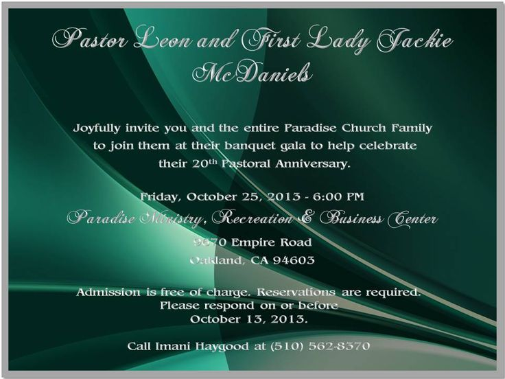 46 best paradise pastor wifes 20th anniversary celebration images 20th pastoral anniversary invite stopboris Choice Image