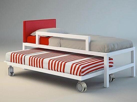 Letto Singolo Doppio Estraibile Cool Design Ideas Letto Singolo Avec ...