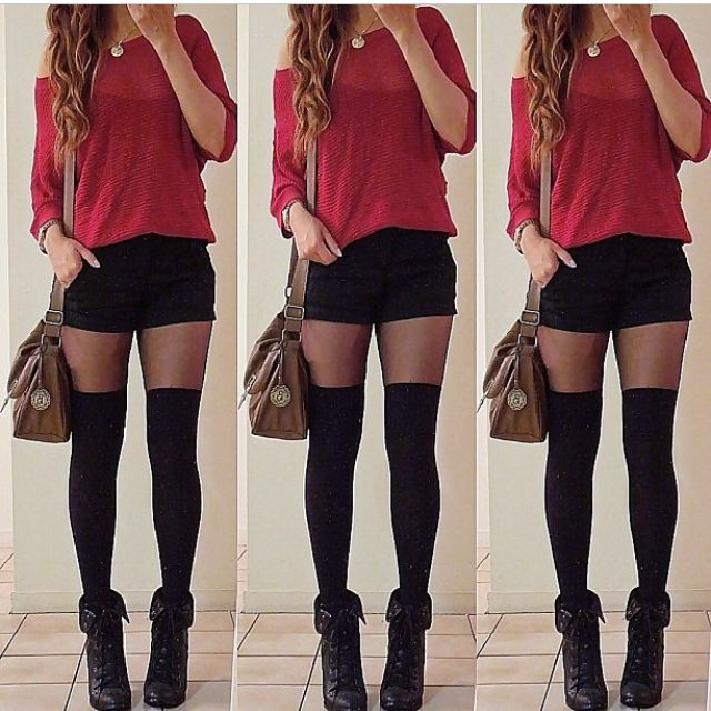 Best 25+ Knee high socks outfit ideas on Pinterest | Thigh high socks outfit High socks outfits ...