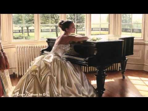 """Lovely arrangement. Beautiful music:  Brian Crain's """"Canon In D"""" arrangement   (piano & violin)  http://briancrain.com  ▬▬▬▬ஜ۩۞۩ஜ▬▬▬▬  DISCLAIMER: All photos, paintings, songs, and music are copyrighted to their respective owners. No infringement intended."""