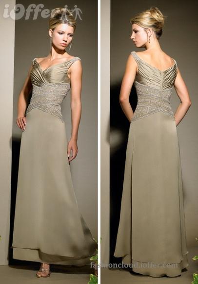 Madre de los vestidos formales GV010 del vestido de la novia