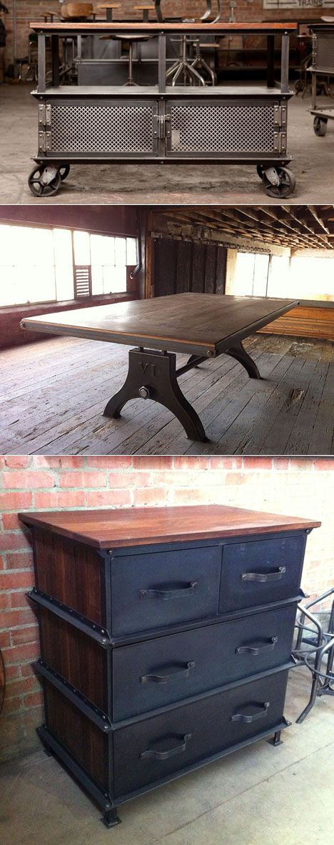 Greg Hankerson's Vintage Industrial: Turning Solid Furniture into a Solid Business - Core77