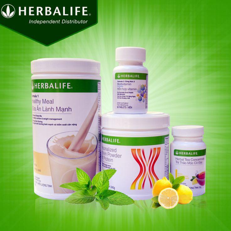 Bộ 4 sản phẩm Herbalife giảm cân nâng cao giá 1tr120k