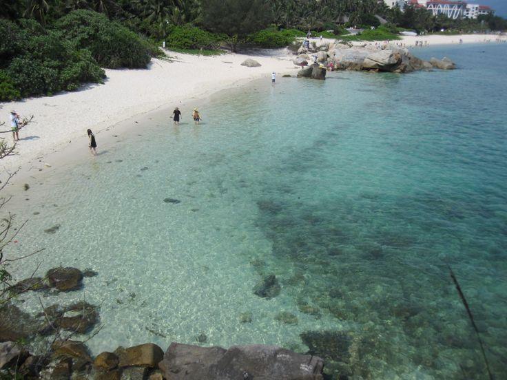 beach of Wuzhizhou Island