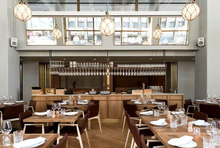 bronda restaurant decor inspiredscandinavian sea coast