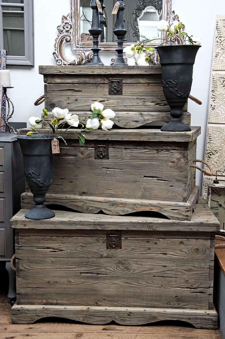 172 Best Trunks Chests Images On Pinterest Stems