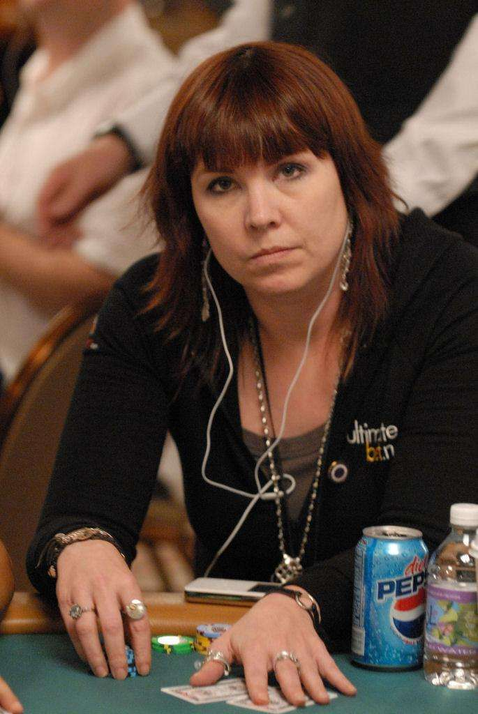 Annie Duke WON over several TOP male poker players. She realized her gender could work against her and for her. Listen to NPR video http://www.npr.org/2015/09/28/444236895/how-poker-player-annie-duke-used-gender-stereotypes-to-win-matches?ft=nprml&f=2