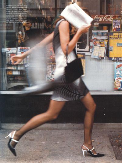 """Don't Shoot"" by Tim Walker for Vogue Italia September 1999"