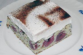 Kirsch - Eierlikör - Blechkuchen mit Schmand - Sahne 13