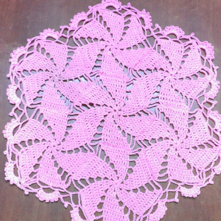 My mom's crochet work